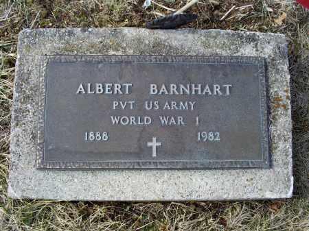 BARNHART, ALBERT - Ross County, Ohio | ALBERT BARNHART - Ohio Gravestone Photos
