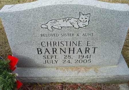 BARNHART, CHRISTINE E. - Ross County, Ohio | CHRISTINE E. BARNHART - Ohio Gravestone Photos