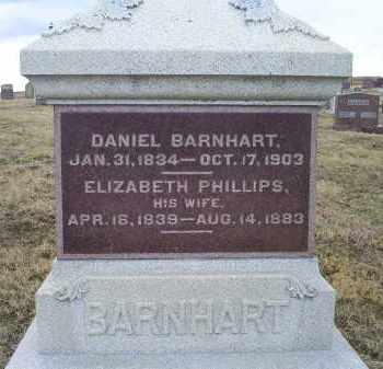 PHILLIPS BARNHART, ELIZABETH - Ross County, Ohio | ELIZABETH PHILLIPS BARNHART - Ohio Gravestone Photos