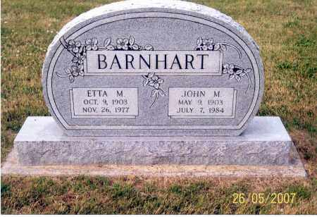 BARNHART, JOHN M. - Ross County, Ohio | JOHN M. BARNHART - Ohio Gravestone Photos
