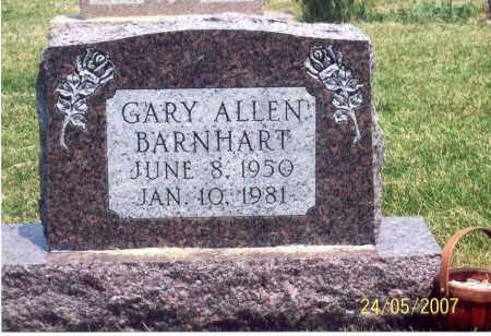 BARNHART, GARY ALLEN - Ross County, Ohio | GARY ALLEN BARNHART - Ohio Gravestone Photos