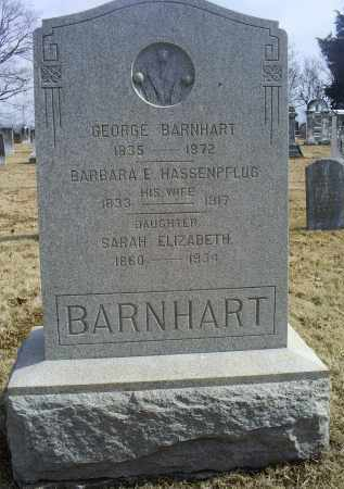 HASSENPFLUG BARNHART, BARBARA E. - Ross County, Ohio | BARBARA E. HASSENPFLUG BARNHART - Ohio Gravestone Photos