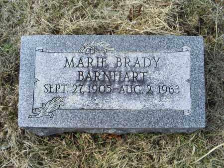 BRADY BARNHART, MARIE - Ross County, Ohio | MARIE BRADY BARNHART - Ohio Gravestone Photos