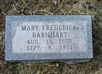 BARNHART, MARY - Ross County, Ohio | MARY BARNHART - Ohio Gravestone Photos