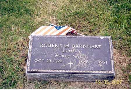 BARNHART, ROBERT H. - Ross County, Ohio | ROBERT H. BARNHART - Ohio Gravestone Photos