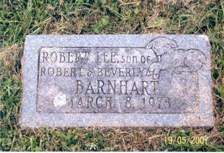 BARNHART, ROBERT LEE - Ross County, Ohio | ROBERT LEE BARNHART - Ohio Gravestone Photos