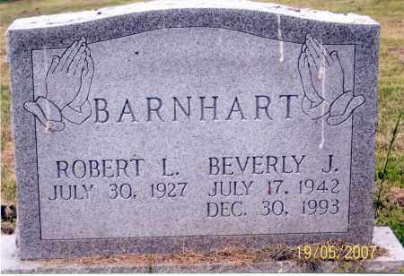 BARNHART, BEVERLY J. - Ross County, Ohio | BEVERLY J. BARNHART - Ohio Gravestone Photos
