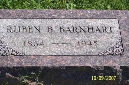 BARNHART, RUBEN B. - Ross County, Ohio | RUBEN B. BARNHART - Ohio Gravestone Photos