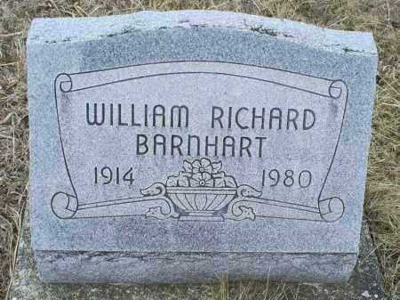 BARNHART, WILLIAM RICHARD - Ross County, Ohio | WILLIAM RICHARD BARNHART - Ohio Gravestone Photos