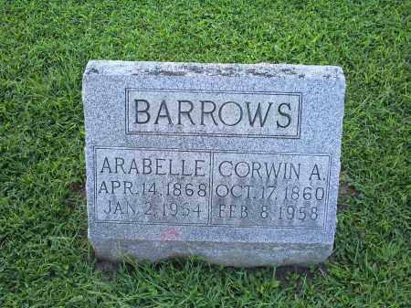 BARROWS, CORWIN A. - Ross County, Ohio   CORWIN A. BARROWS - Ohio Gravestone Photos