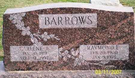 BARROWS, RAYMOND E. - Ross County, Ohio | RAYMOND E. BARROWS - Ohio Gravestone Photos