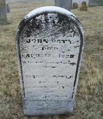 BATY, MARY - Ross County, Ohio | MARY BATY - Ohio Gravestone Photos