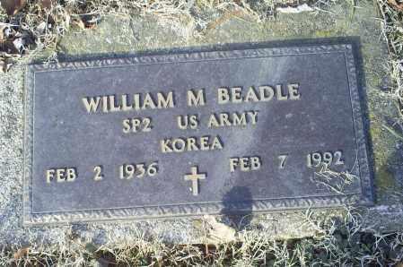 BEADLE, WILLIAM M. - Ross County, Ohio | WILLIAM M. BEADLE - Ohio Gravestone Photos