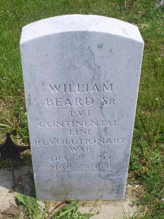 BEARD, WILLIAM SR. - Ross County, Ohio | WILLIAM SR. BEARD - Ohio Gravestone Photos