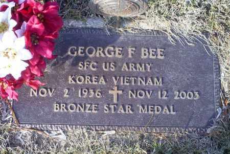 BEE, GEORGE F. - Ross County, Ohio | GEORGE F. BEE - Ohio Gravestone Photos