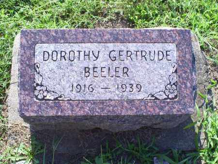 BEELER, DOROTHY GERTRUDE - Ross County, Ohio | DOROTHY GERTRUDE BEELER - Ohio Gravestone Photos