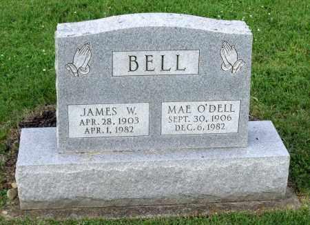 BELL, MAE - Ross County, Ohio | MAE BELL - Ohio Gravestone Photos