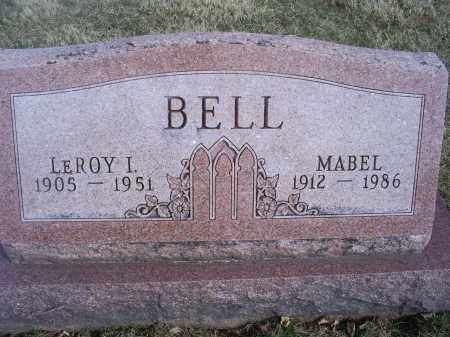 BELL, MABEL - Ross County, Ohio | MABEL BELL - Ohio Gravestone Photos