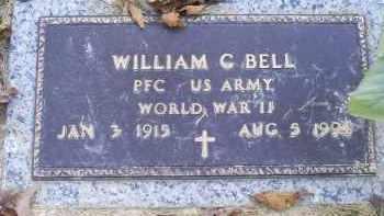 BELL, WILLIAM C. - Ross County, Ohio   WILLIAM C. BELL - Ohio Gravestone Photos