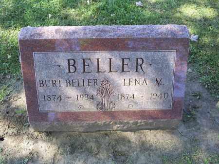 BELLER, LENA M. - Ross County, Ohio | LENA M. BELLER - Ohio Gravestone Photos