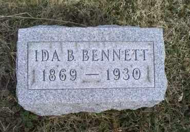 BENNETT, IDA B. - Ross County, Ohio | IDA B. BENNETT - Ohio Gravestone Photos