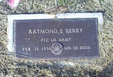 BERRY, RAYMOND E. - Ross County, Ohio | RAYMOND E. BERRY - Ohio Gravestone Photos