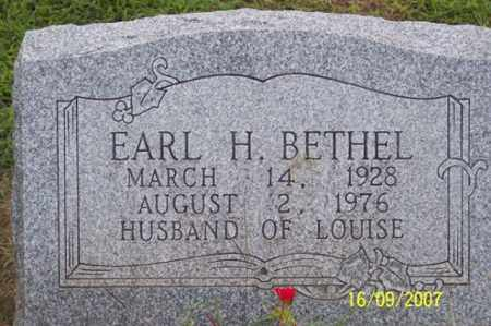 BETHEL, EARL H. - Ross County, Ohio | EARL H. BETHEL - Ohio Gravestone Photos