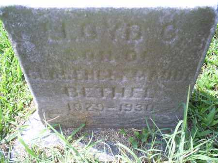 BETHEL, LLOYD C. - Ross County, Ohio   LLOYD C. BETHEL - Ohio Gravestone Photos