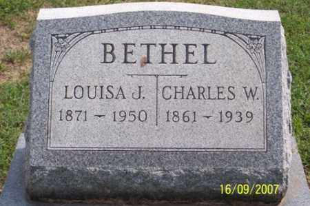 BETHEL, CHARLES W. - Ross County, Ohio | CHARLES W. BETHEL - Ohio Gravestone Photos