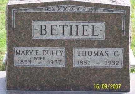 DUFFY BETHEL, MARY E. - Ross County, Ohio   MARY E. DUFFY BETHEL - Ohio Gravestone Photos