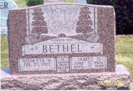 BETHEL, JAMES D. - Ross County, Ohio | JAMES D. BETHEL - Ohio Gravestone Photos