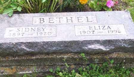 BETHEL, ELIZA - Ross County, Ohio   ELIZA BETHEL - Ohio Gravestone Photos