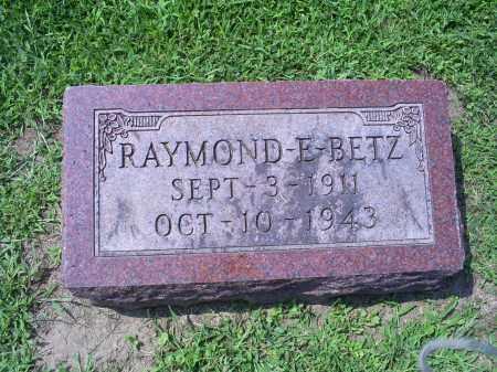 BETZ, RAYMOND E. - Ross County, Ohio | RAYMOND E. BETZ - Ohio Gravestone Photos