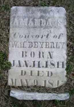 BEVERLY, AMANDA S. - Ross County, Ohio | AMANDA S. BEVERLY - Ohio Gravestone Photos
