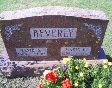 BEVERLY, ESSIE S. - Ross County, Ohio   ESSIE S. BEVERLY - Ohio Gravestone Photos