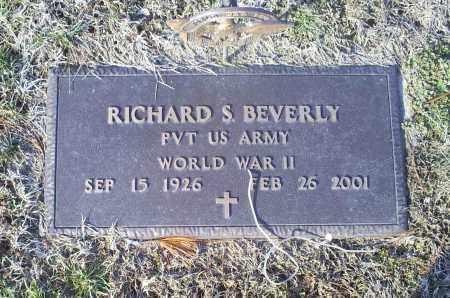 BEVERLY, RICHARD S. - Ross County, Ohio   RICHARD S. BEVERLY - Ohio Gravestone Photos
