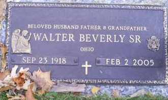 BEVERLY, WALTER SR. - Ross County, Ohio   WALTER SR. BEVERLY - Ohio Gravestone Photos