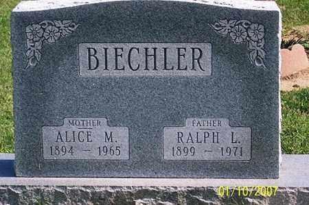 BIECHLER, ALICE M. - Ross County, Ohio   ALICE M. BIECHLER - Ohio Gravestone Photos