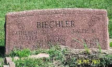 BIECHLER, CATHERINE E. - Ross County, Ohio | CATHERINE E. BIECHLER - Ohio Gravestone Photos