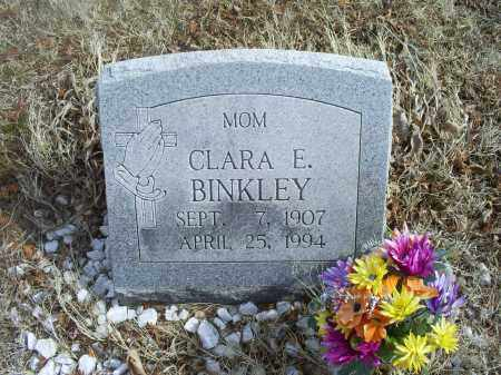 BINKLEY, CLARA E. - Ross County, Ohio | CLARA E. BINKLEY - Ohio Gravestone Photos