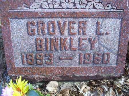 BINKLEY, GROVER L. - Ross County, Ohio   GROVER L. BINKLEY - Ohio Gravestone Photos