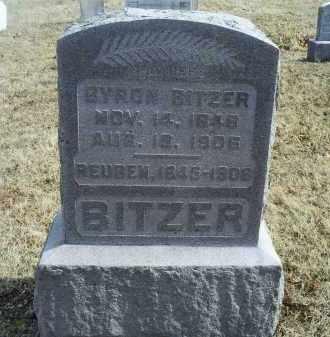 BITZER, BYRON - Ross County, Ohio | BYRON BITZER - Ohio Gravestone Photos