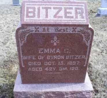 BITZER, EMMA C. - Ross County, Ohio | EMMA C. BITZER - Ohio Gravestone Photos