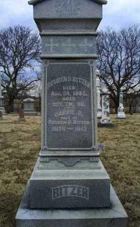 BITZER, CARRIE - Ross County, Ohio | CARRIE BITZER - Ohio Gravestone Photos