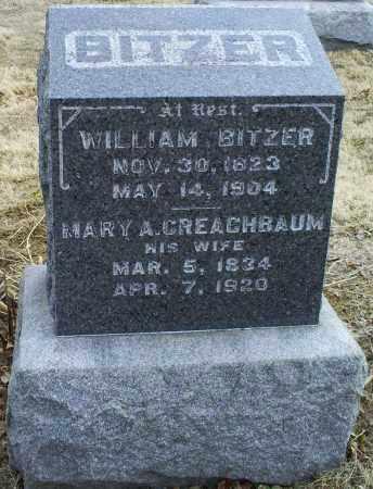 BITZER, MARY A. - Ross County, Ohio | MARY A. BITZER - Ohio Gravestone Photos