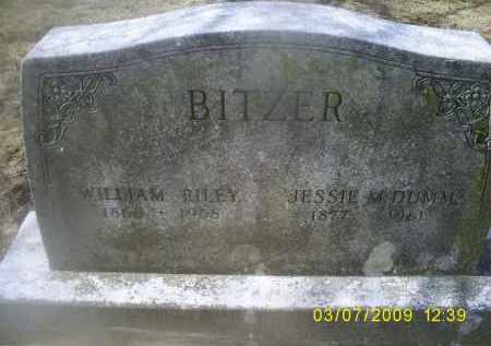 DUMM BITZER, JESSIE M. - Ross County, Ohio | JESSIE M. DUMM BITZER - Ohio Gravestone Photos