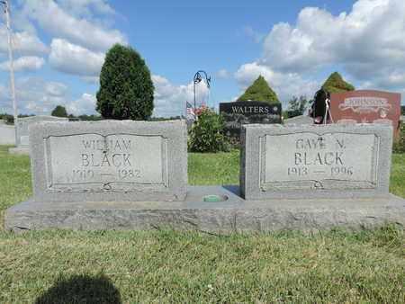 BLACK, GAYE N - Ross County, Ohio | GAYE N BLACK - Ohio Gravestone Photos