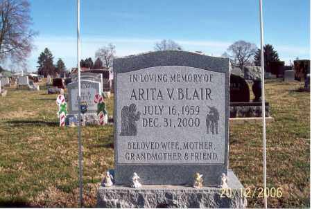 BLAIR, ARITA V. - Ross County, Ohio | ARITA V. BLAIR - Ohio Gravestone Photos