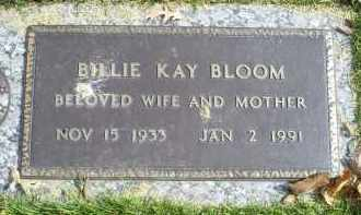 BLOOM, BILLIE KAY - Ross County, Ohio | BILLIE KAY BLOOM - Ohio Gravestone Photos