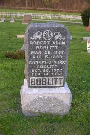 BOBLITT, ROBERT AIKIN - Ross County, Ohio   ROBERT AIKIN BOBLITT - Ohio Gravestone Photos